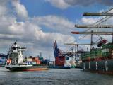 Hamburg Container terminal
