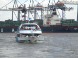 Boat tour to  Container terminal