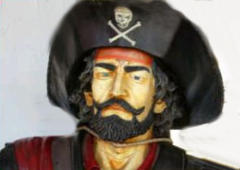 Pirates head