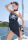 PIRAT photoset skinny teen an boat